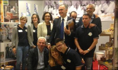 Immagine: foto di gruppo con Rossi