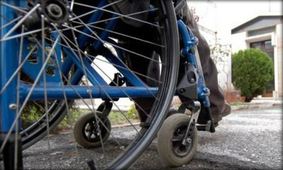 Disabile in carrozzina